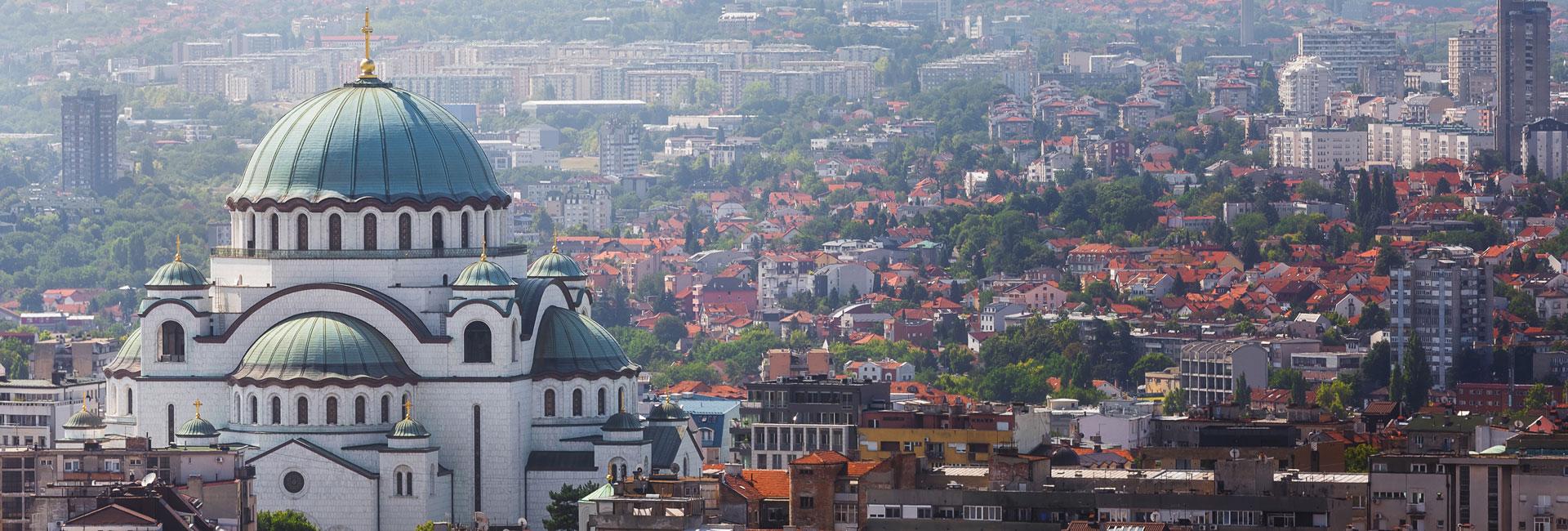 Ansicht Serbien